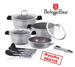 GARNKI BERLINGER HAUS GRANIT DIAMOND GRAY 11 ELE BH-1121