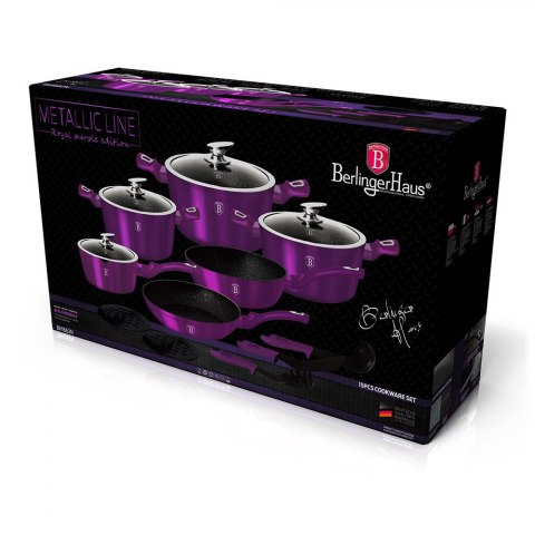 GARNKI BERLINGER HAUS METALLIC ROYAL PURPLE LINE 15 ELE BH-1662-N