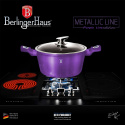 GARNKI BERLINGER HAUS 10 ELE METALLIC ROYAL PURPLE BH-1661-N