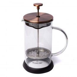 ZAPARZACZ DO HERBATY FRENCH PRESS 1.0L STARKE PRO HARPER 4012